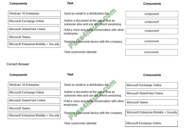 Examdumpsdownload MS-900 exam questions-q5