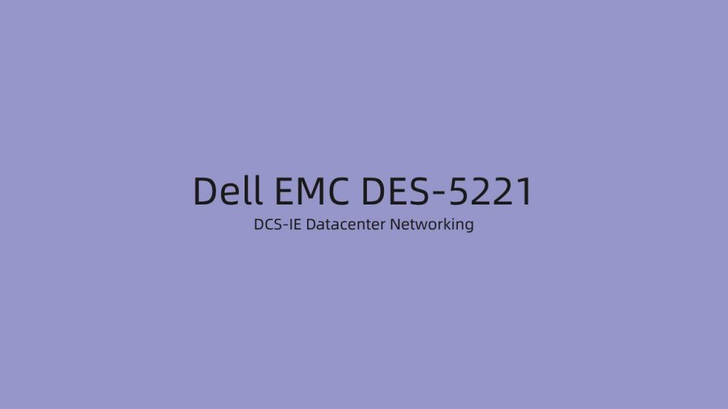 EMC DES-5221